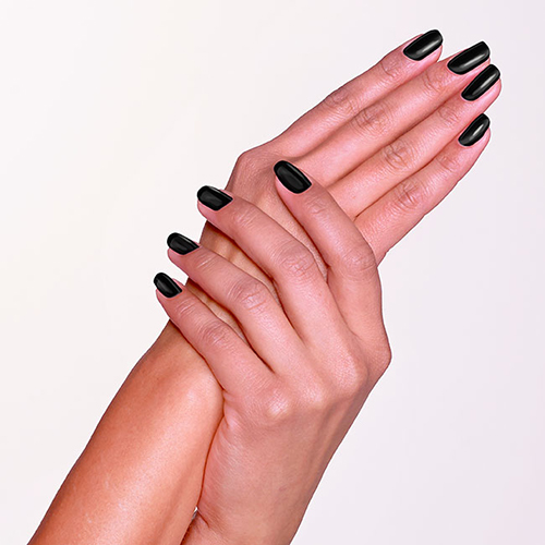 Cut Black Nail Polish